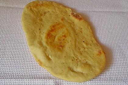 Indisches Naan Brot 98