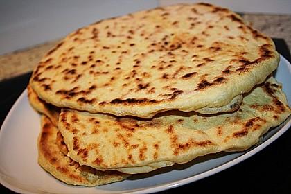 Indisches Naan Brot 16