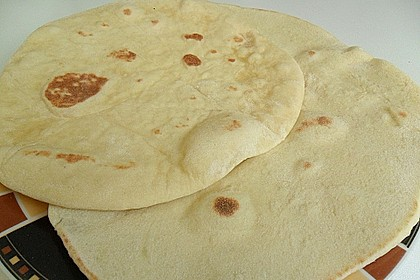 Indisches Naan Brot 12