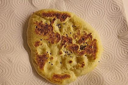 Indisches Naan Brot 78