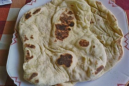 Indisches Naan Brot 105