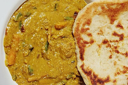 Indisches Naan Brot 25
