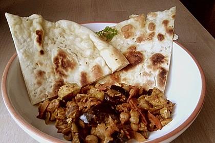 Indisches Naan Brot 56