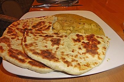 Indisches Naan Brot 45