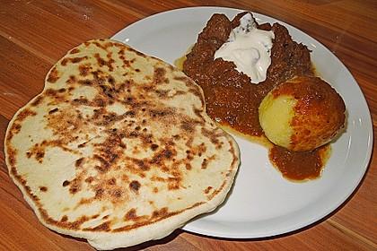 Indisches Naan Brot 85