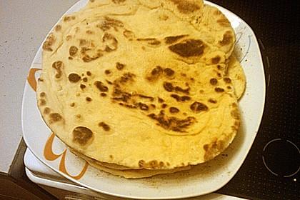 Indisches Naan Brot 86