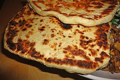 Indisches Naan Brot 23