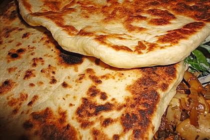 Indisches Naan Brot 21