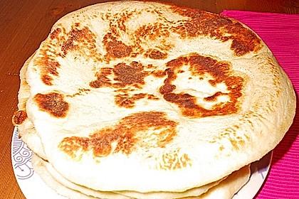 Indisches Naan Brot 100