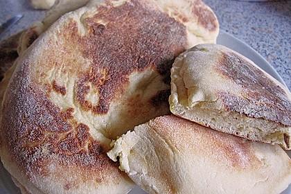 Indisches Naan Brot 20