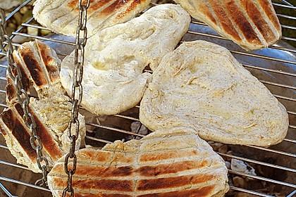 Indisches Naan Brot 10