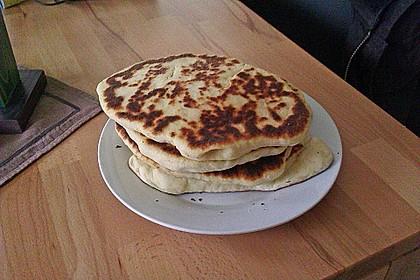 Indisches Naan Brot 82