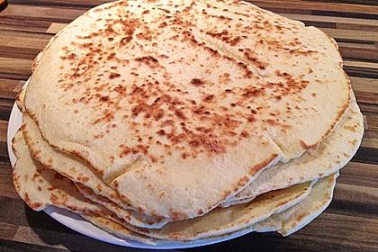 Indisches Naan Brot 24