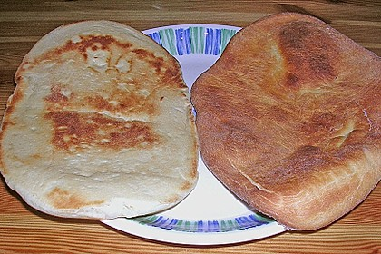 Indisches Naan Brot 112
