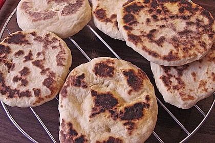 Indisches Naan Brot 48