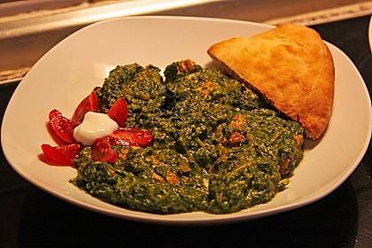 Indisches Naan Brot 59