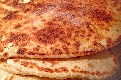 Indisches Naan Brot 17