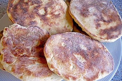 Indisches Naan Brot 75