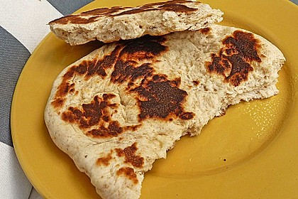 Indisches Naan Brot 22