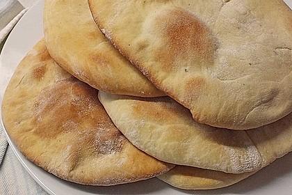 Indisches Naan Brot 41