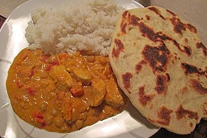 Indisches Naan Brot 11