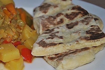 Indisches Naan Brot 29