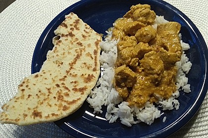Indisches Naan Brot 107