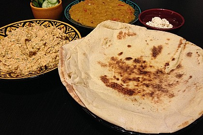Indisches Naan Brot 4