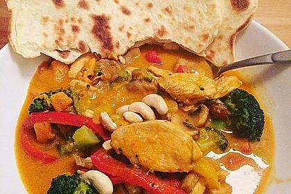 Indisches Naan Brot 1
