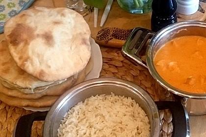 Indisches Naan Brot 32