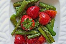 Spargel - Erdbeer Dessert