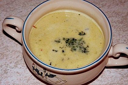 Champagner - Senf - Suppe 16