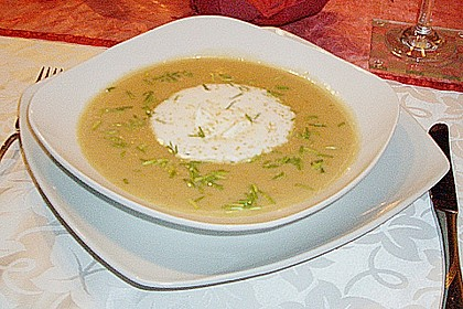 Champagner - Senf - Suppe 22