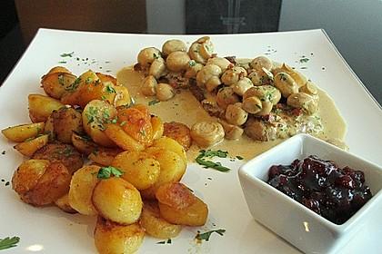 Jägerschnitzel mit Bratkartoffeln 1