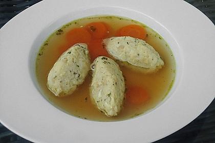 Käsenockensuppe