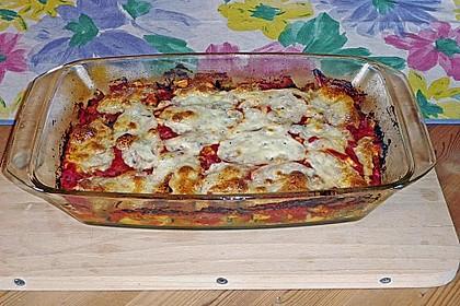 Zucchini - Auberginen - Auflauf 4