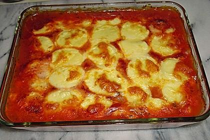 Zucchini - Auberginen - Auflauf
