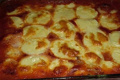 Zucchini - Auberginen - Auflauf 3
