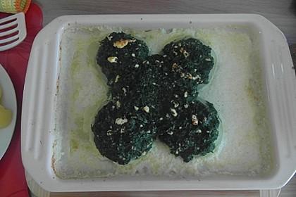 Kohlrabi gefüllt mit Spinat, Schafskäse und Schalotten 7