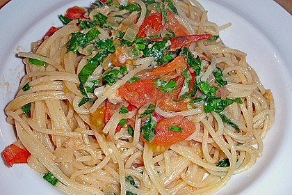 Bärlauch - Spaghetti 12