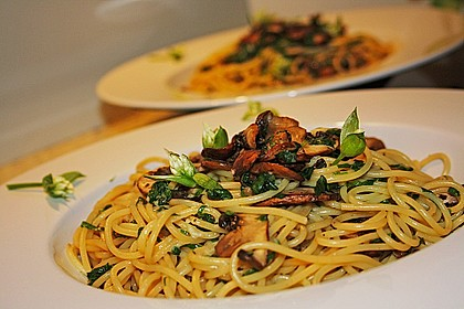 Bärlauch - Spaghetti 2