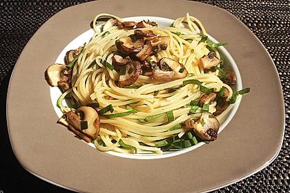Bärlauch - Spaghetti