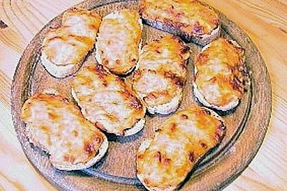 Käse-Croutons auf provenzalische Art