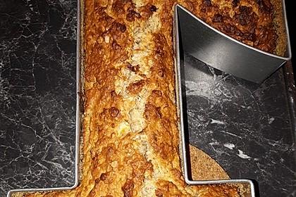 Veganer Bananen-Haferflocken-Kuchen 11