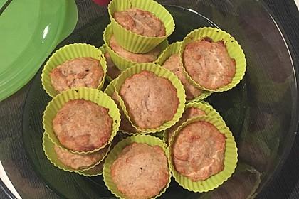 Veganer Bananen-Haferflocken-Kuchen 13