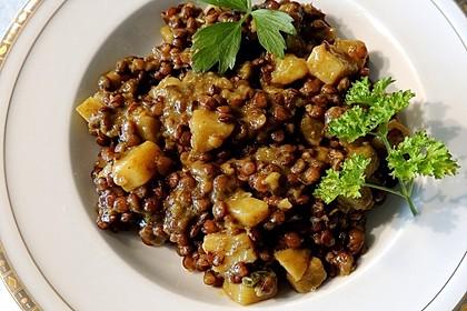 Rote Linsen-Curry mit Kokosmilch 5