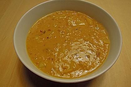 Rote Linsen-Curry mit Kokosmilch 12