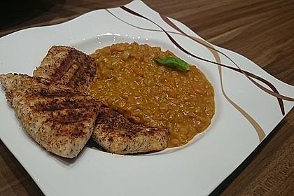 Rote Linsen-Curry mit Kokosmilch 2