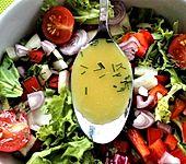 Schnelles Salatdressing