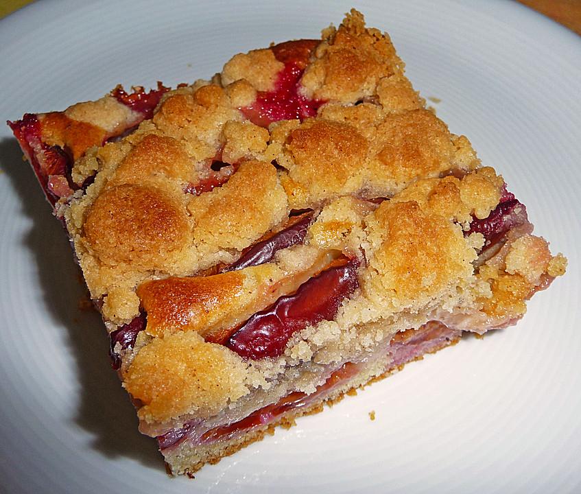 Rezept Zwetschgenkuchen Rührteig zwetschgenkuchen mit rührteig und streusel hdkern chefkoch de